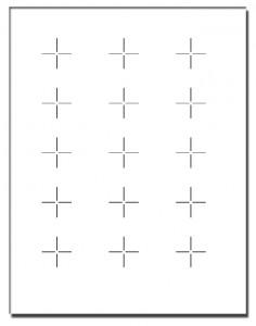 Cross Mark Template
